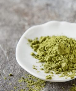 White Veined Hulu Kapaus Kratom Powder